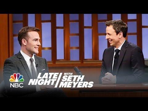 James Van Der Beek Apologizes to Mike Birbiglia - Late Night with Seth Meyers