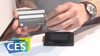 CES 2015 - Wocket Smart Wallets Slim Down Your Pocket - GetConnected TV