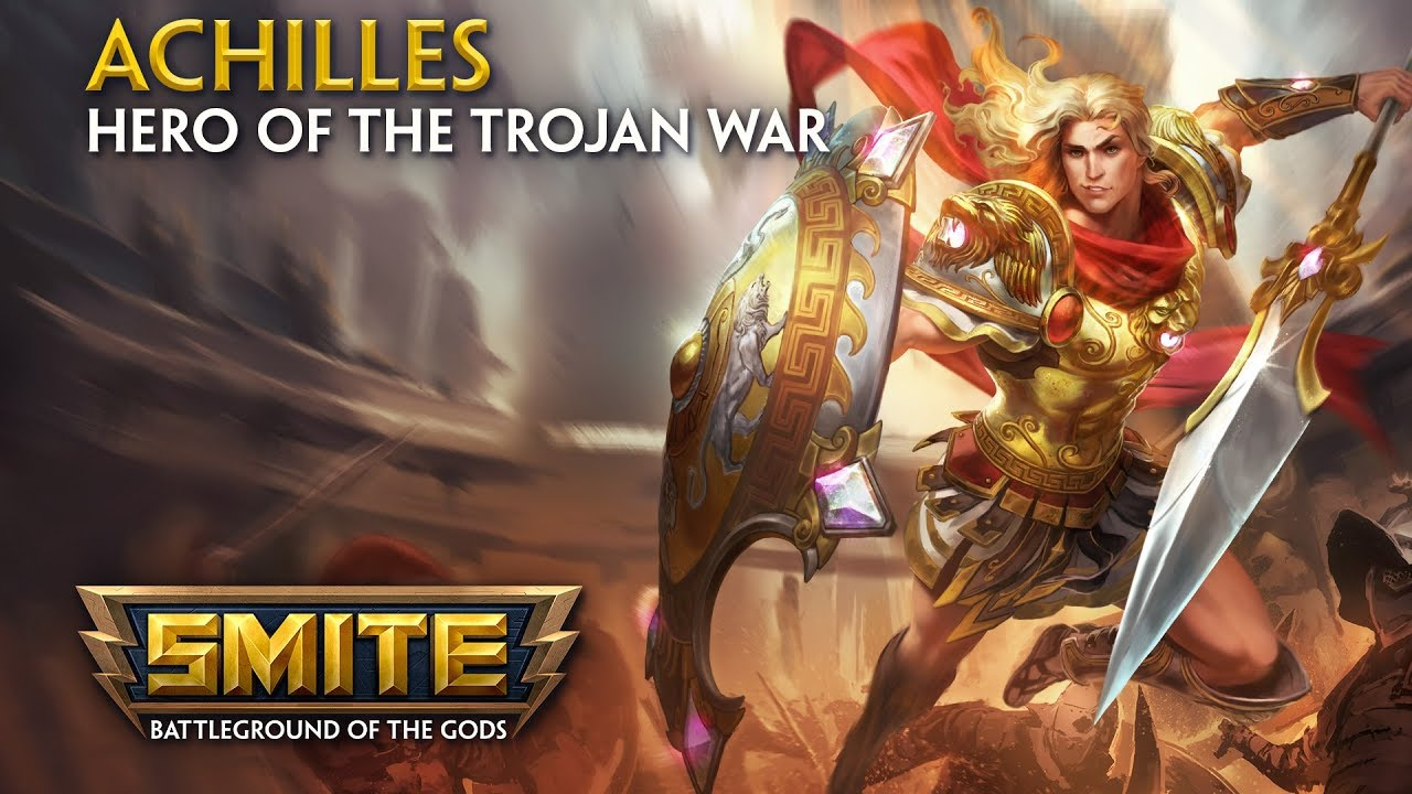 smite god lore reveal achilles hero of the trojan war