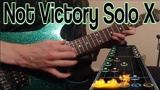 Not Victory Solo X (Guitar cover + chart preview)