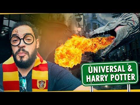 UNIVERSAL E PARQUE DO HARRY POTTER | Matheus Ceará Viaja