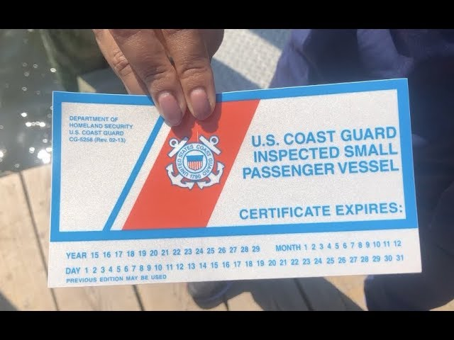 USCG Illegal Charters Warning