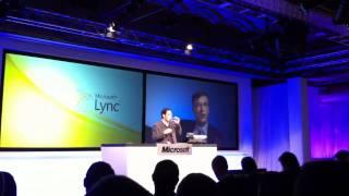MS LYNC LAUNCH-Bill Gates