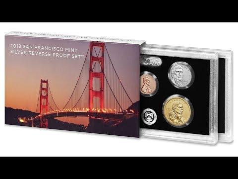 Mint Box /& COA 10 coins silver Half /& Quarter 2018 Reverse Silver Proof Set U.S
