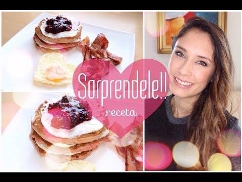 Sunday Funday! Sorpréndele! I Pancakes tarta de queso