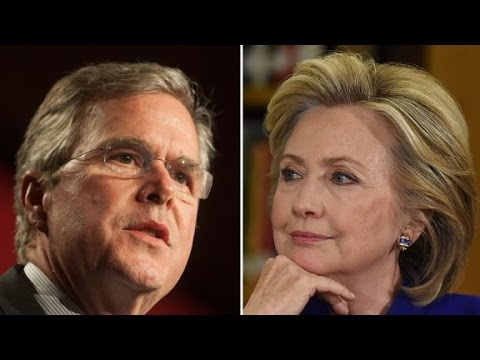 Jeb Bush targets Hillary on trust
