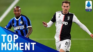 Ramsey Nets Juve s Opener in The Derby D Italia Juventus 2 0 Inter Top Moment Serie A TIM