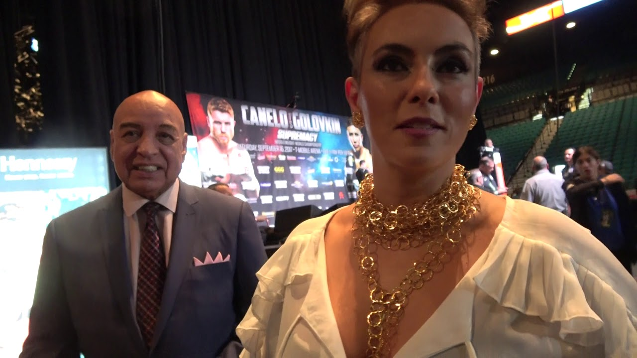 Joe Cortez And Claudia Trejos Break Down Canelo Vs Ggg Weigh In 160 Each Esnews Boxing