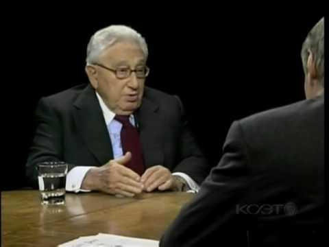 Henry Kissinger New World Order November 16, 2009