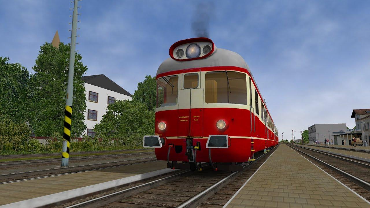 Open Rails - CSD M286 1(dnes řada 850) by Petr Lukáš