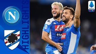 Napoli 2-0 Sampdoria | Mertens Bags Brace to take the Three Points! | Serie A
