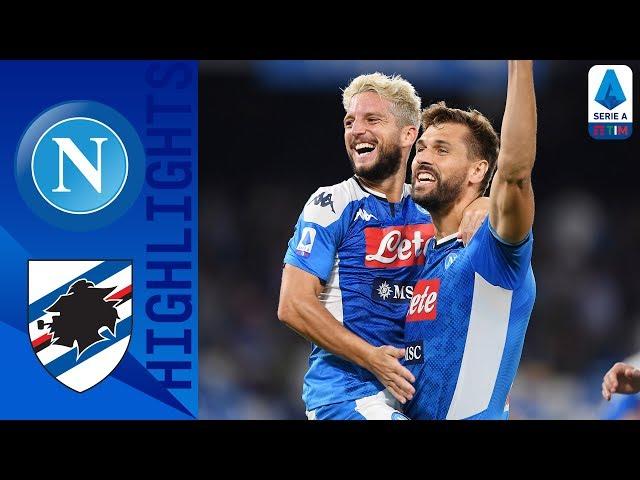 Napoli 2-0 Sampdoria   Mertens bags first season brace!   Serie A