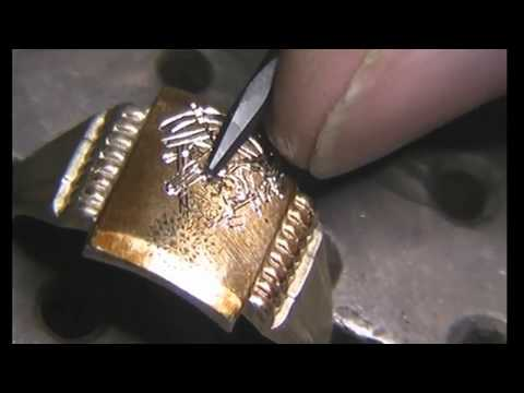 Hand Engraved  Live Stream Masonic Past Masters Ring