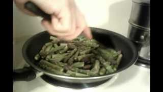 How To Make Sauteed Asparagus In Homemade Chinese-style Garlic Sauce