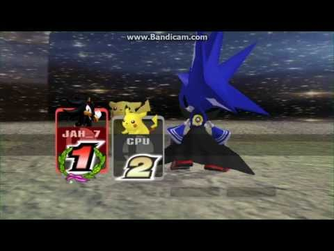 Super Smash Bros Brawl: Neo Metal Sonic Cheats