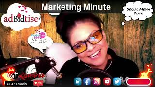Social Media Stats - Kat's Marketing Minute
