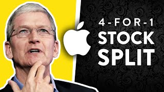 Apple Stock Splits 4-for-1. What does it mean for investors?