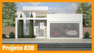 casa pequena planta 83b