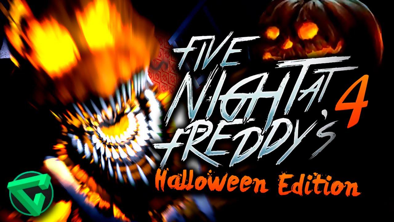 Five nights at freddy s 4 halloween edition 161 estreno 201 pico