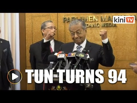 Dr Mahathir turns 94, but age hasn't slowed him down one bit