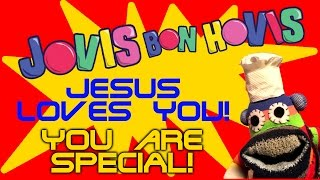 YOU ARE SPECIAL, JESUS LOVES YOU SONG. Christian kids song, you are special.