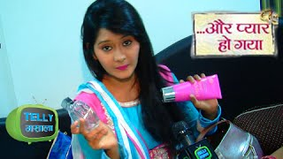 Exclusive Chat With Avni From Aur Pyaar Ho Gaya In her Make Up Van | Zee Tv