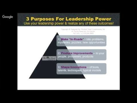 Innovative Leadership Power Energizes Applications Of Your Intellectual Capital Assets-F