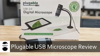 Plugable USB Microscope Review