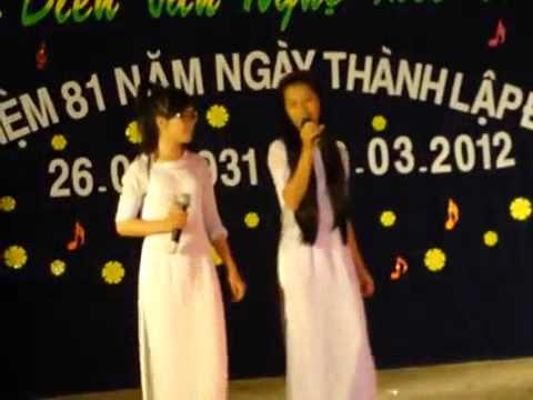 Trường THPT Ba Hòn - song ca