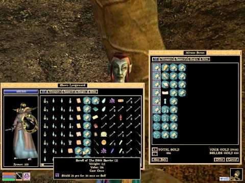The Elder Scrolls III: Morrowind - Bartering Trick