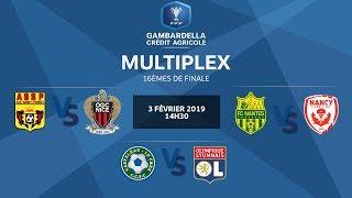 Coupe Gambardella-CA I le multiplex des 16es de finale, le replay