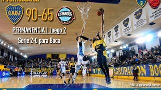 Triple Xeneize en vivo - Boca vs Echague - LNB 2016/17 Permanencia Juego 2