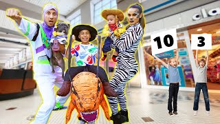 We Let Random Strangers RATE Our HALLOWEEN OUTFITS! (Challenge) | The Royalty Family