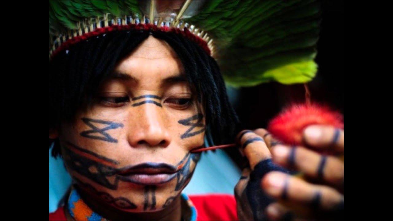 Pintura Corporal Dos Povos Indigenas Youtube