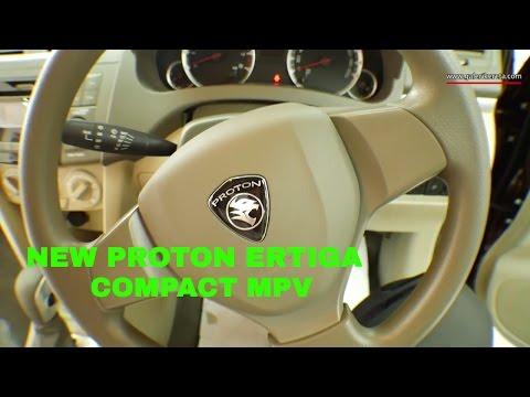 Proton Ertiga 2016 MPV Baru Malaysia Interior and Exterior Review  Red Colour