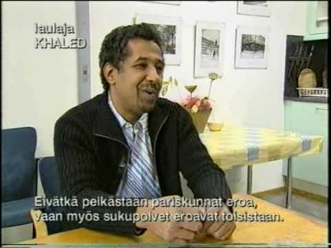 Khaled & Cesaria Evora interview by Tomi Lindblom (2004) / Finland