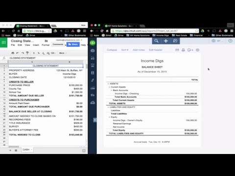 Real Estate Accounting - Purchase Property (Part 1)