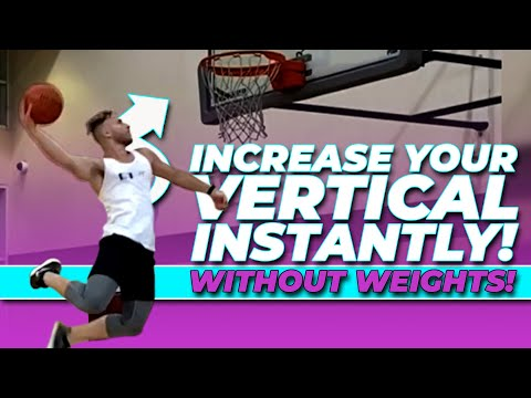 Jump Higher Instantly 😱 WITHOUT WEIGHTS  | Increase Vertical Jump Fast