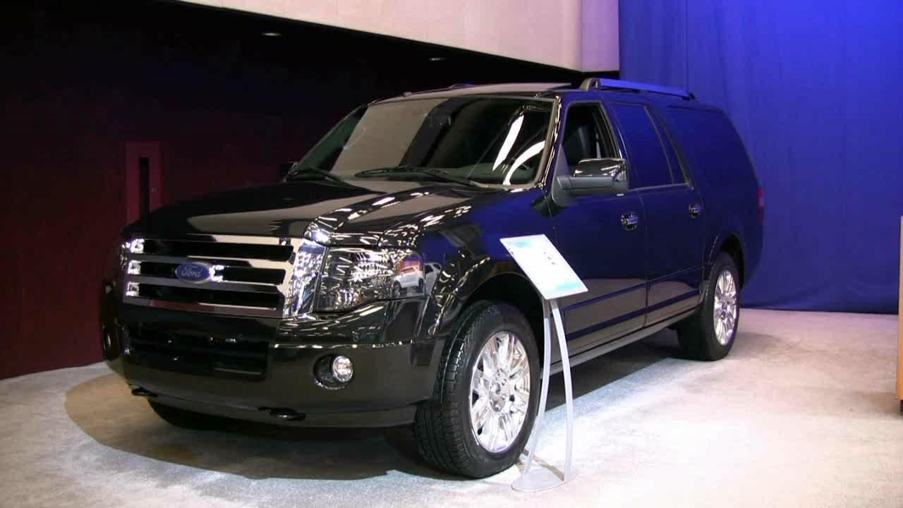 2012 ford expedition exterior and interior at 2012 montreal auto show youtube