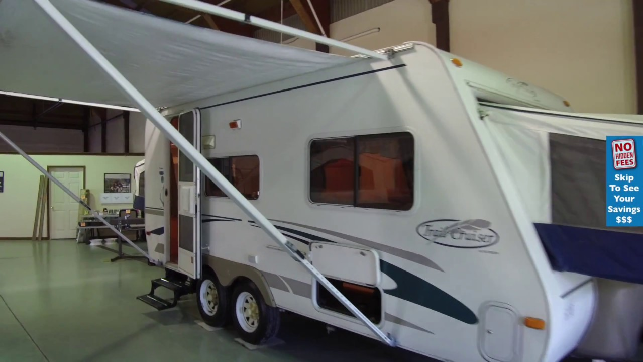 2004 R Vision Trail Cruiser C19 Pre Owned Fold Out Travel