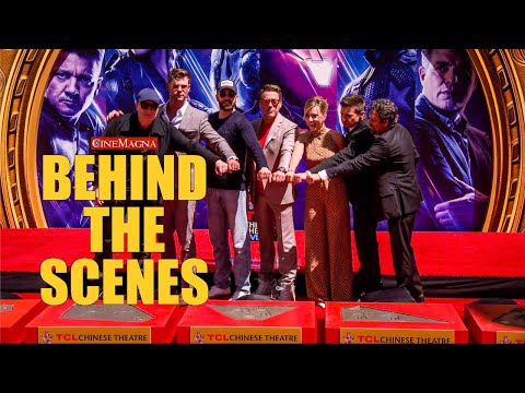 Avengers: Endgame TCL Chinese Theatre Handprint Ceremony (2019)