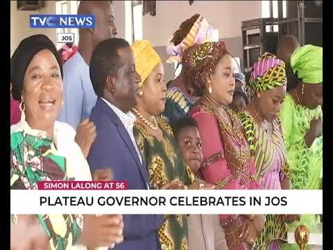 Plateau Governor, Simon Lalong, Celebrates 56th Birthday In Jos