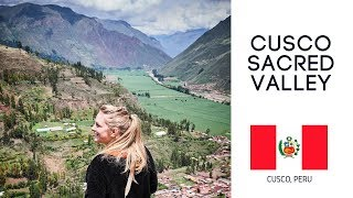 FIRST TIME IN PERU | Impressions of a Traditional Village😳 (Cusco Peru Sacred Valley Tour )
