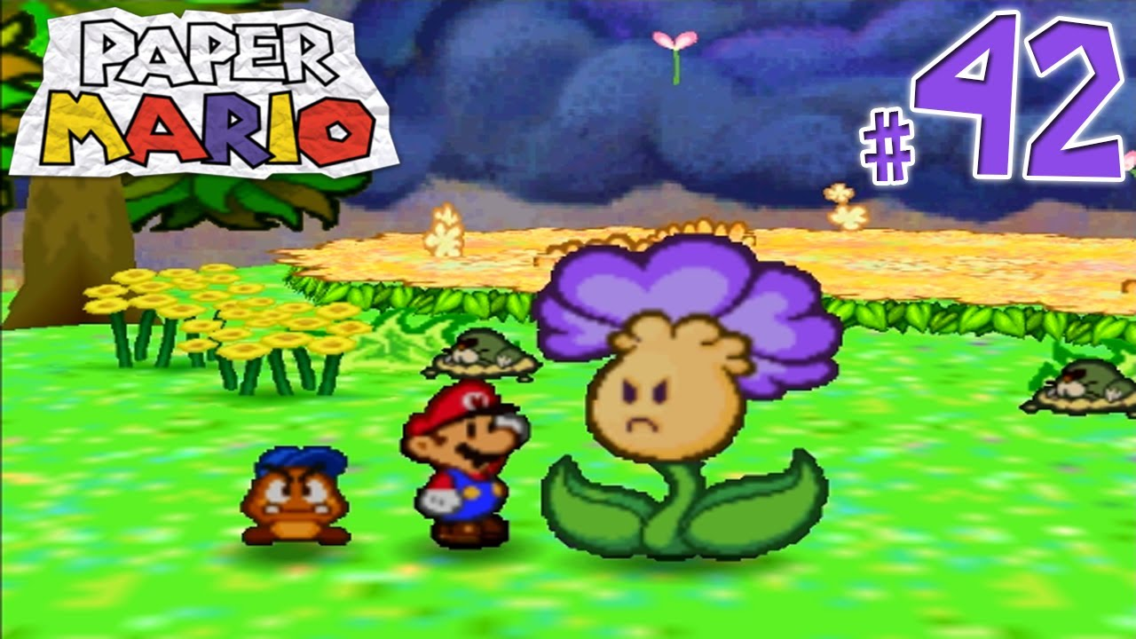 Paper Mario Gameplay Walkthrough Part 42 Welcome To Flower