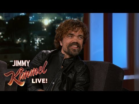 Peter Dinklage on Game of Thrones  & Emmy Win