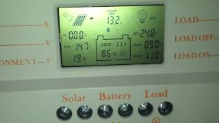 lcd 30a mppt solar panel regulator charge controller 12v 24v 380w 760w with usb