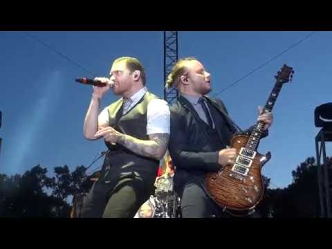 Shinedown - Asking For It And Fly From The Inside Rock USA 2016 Oshkosh Wisconsin
