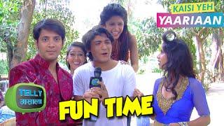 Dhruv, Aaliya, Cabir, Mukti & Navya Fun Chat | Behind The Scenes | Kaisi Yeh Yaariaan