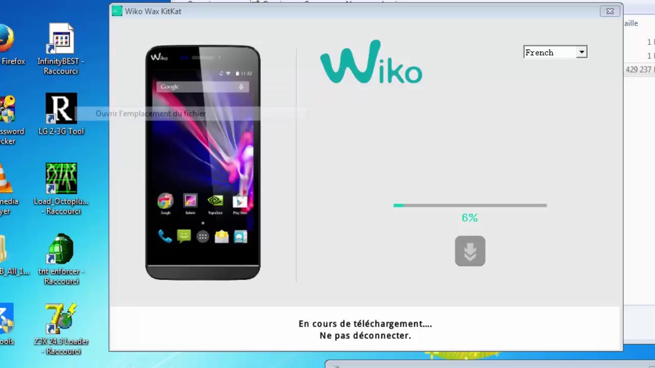 FIRMWARE WIKO OZZY TÉLÉCHARGER