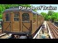 ⁴ᴷ 2017 Vintage Parade of Trains Action - BMT Standards